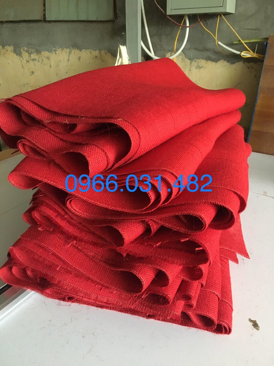 Vải đay màu